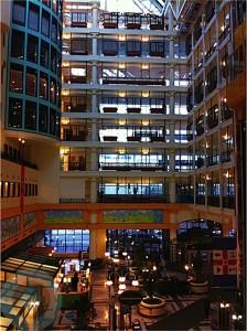 Sick Kids Hospital Atrium
