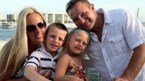 Stephanie Decker and her family