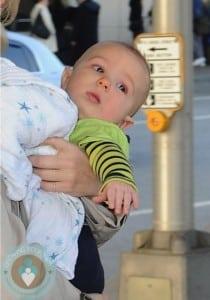 Xander Jones at JFK airport