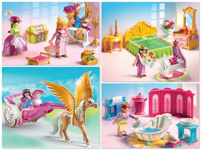 playmobil 2012 collection growing your baby - Playmobil Chambres Princesses