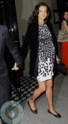 pregnant Emma Heming out for dinner with husband Bruce Willis