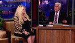 Very pregnant Jessica Simpson on Jay Leno