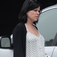 Pregnant Neve Campbell Picks Up Groceries in LA