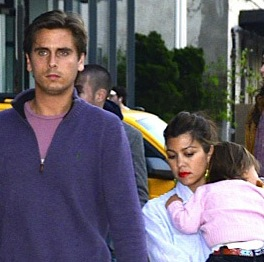 Kourtney and Scott Dine in NYC With Friends!