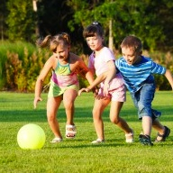 Study: Preschoolers Not Getting Enough Outdoor Playtime