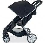 BRitax B-agile double stroller black side