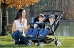 BRitax B-agile double stroller black - twins
