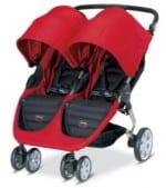 BRitax B-agile double stroller red
