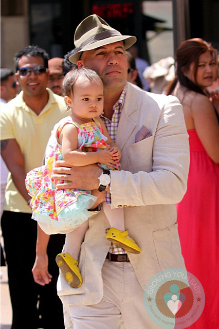 Billy Zane And Daughter Eva Grove Growing Your Baby