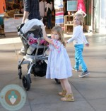 Dean McDermott, Hattie McDermott, Stella McDermott, Liam McDermott At the Grove