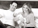 Hilary Duff, Mike Comrie, Luca Comrie