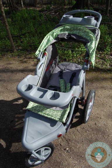 Instep Safari - front with snack tray - Growing Your Baby ...