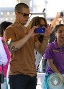 Jennifer Lopez and Casper Smart Easter Bunny