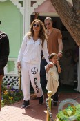 Jennifer Lopez and Casper Smart with Max Anthony