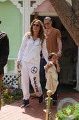 Jennifer Lopez and Casper Smart with Max Anthony