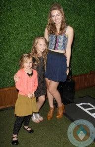 Luca Bella, Lola Ray, Fiona Eve at Jennie Garth's birthday party