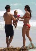 Mark and Grace Wahlberg, Rhea Durham beach Miami