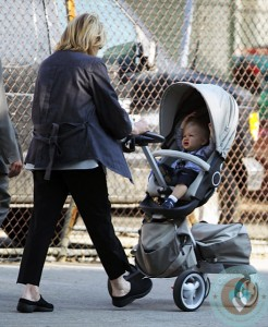 Martha Stewart with granddaughter Jude out in NYC
