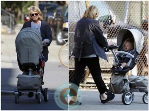 Martha Stewart with granddaughter Jude, stokke Xplory