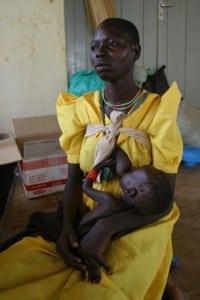 Mom Africa breastfeeding