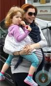 Pregnant Alyson Hannigan, Satyana Denisof Brentwood market