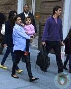 Pregnant Kourtney Kardashian, Scott Disick, Mason Disick out in NYC
