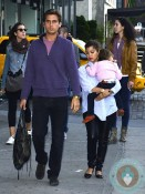 Pregnant Kourtney Kardashian, Scott Disick with son Mason Disick NYC