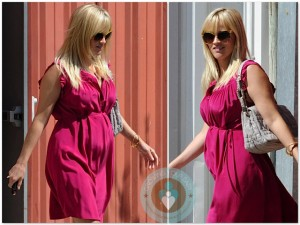 Pregnant Reese Witherspoon Easter