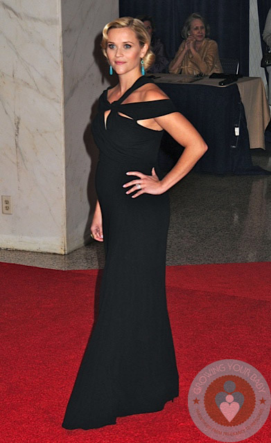 Pregnant Reese Witherspoon Whitehouse 2012