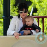 Selma Blair with son Arthur Bleick