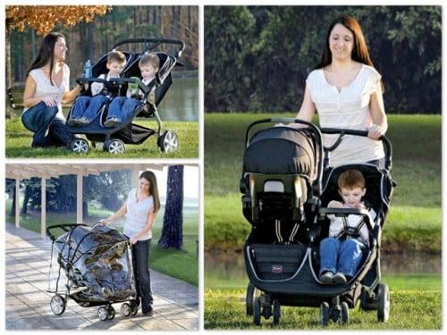 Britax B Agile Double Car Seat Adapter
