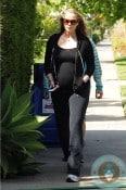 pregnant Elizabeth Berkley