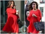 pregnant Kourtney Kardashian at Nokia event in NYC