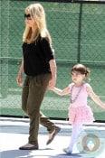 pregnant Sarah Michelle Gellar and charlotte prinze ballet