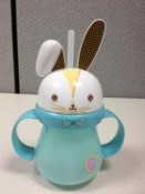 recalled Target Home Bunny Sippy Cup - blue