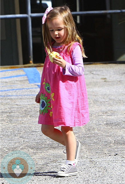 seraphina affleck out in LA