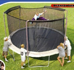 RECALL: 92,000 Sportspower Limited Trampolines Due to Fall Hazard