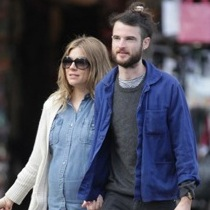 Sienna Miller and Tom Sturridge Lunch in Portofino
