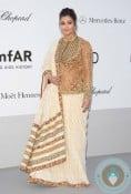Aishwarya Rai Bachchan Amfar dinner Cannes 2012