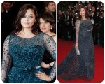 Aishwarya Rai Bachchan red carpet Cannes 2012
