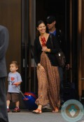 Carson Daly, Siri Pinter, Jackson James Daly Out in NYC