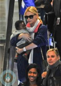 Charlize Theron and son Jackson, Paris