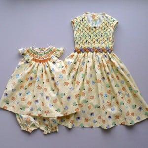 Coquito Smocking dress SS12 - 1