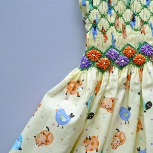 Coquito Smocking dress SS12 - 3