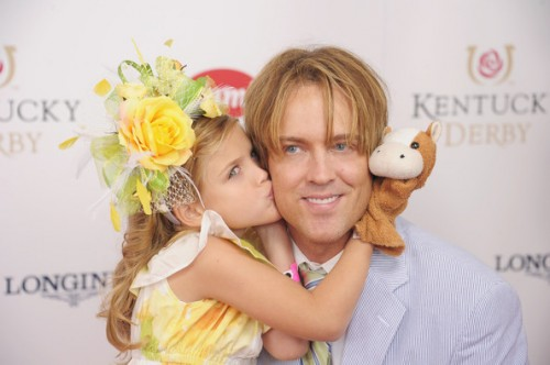 Dannielynn and Larry Birkhead @ the Kentucky Derby 2012