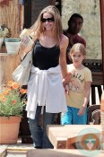 Denise Richards, Sam Sheen out shopping in LA