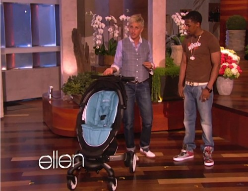 Ellen Degeneres Audience Hits The Baby Gear Jackpot