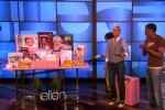 Ellen DeGeneres Mothers day show - shutterfly