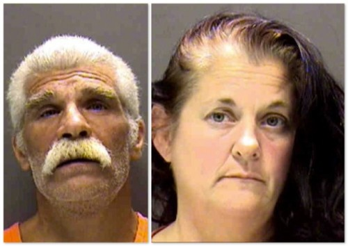 Grandparents Paul and Belinda Berloni Arrested For Towing grandson behind SUV in toy car