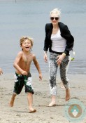 Gwen Stefani, Kingston Rossdale, Marina Del Ray